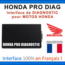 HONDA PRO DIAG - Diagnostic pour MOTOS et SCOOTERS HONDA - Français Intégral