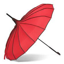 Pagoda Parasol Wind-proof /Waterproof Umbrella Wedding Bride Parasol 4 Colors
