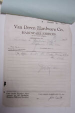 1929 Lamson Goodnow Van Deren Hardware Co Inc Lexington KY Ephemera L719K