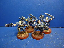 4 Scouts der Space Wolves METALL