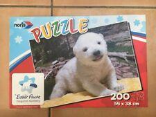 Noris Puzzle Eisbär Flocke 200 Teile