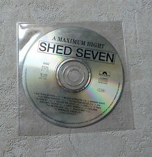 "CD AUDIO MUSIQUE INT/ SHED SEVEN ""A MAXIMUM HIGHT""  CD PROMO 1996 POLYDOR 6262"