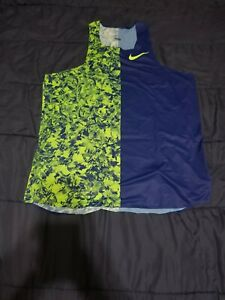 Rare Nike Pro Elite Sponsored 2019 Singlet Track And Field Running Men Size XXLT