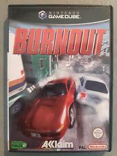 Jeu BURNOUT - Nintendo Game Cube - Français (PAL) - Complet