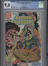 BATMAN AND THE OUTSIDERS #14 NM 9.6 CGC HIGHEST 1 OF 1 CANADIAN PRICE VARIANT