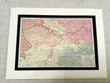 More details for ww1 map print czechoslovakia austro hungarian empire pre great war 1914