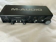 M Audio M Track plus 24bit 96 kHz External sound card
