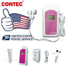 CE&FDA,Prenatal Fetal Doppler Listen Baby Heart beat Monitor LCD,GEL,earphone