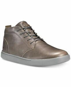 Timberland Mens Groveton Sneakers Dark Grey Full Grain US 9.5 Medium TB0A1ZJC039