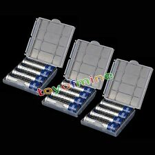12x 3000mah NiMH AA Rechargeable HR6 Battery + Plastic case C509