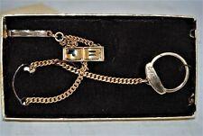"Vintage ANSON 21"" Pocket Watch gold Tone fob"