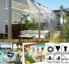 AFA STOP Impianto umidificatore rinfrescante nebulizzatore da esterno kit 7.5 mt