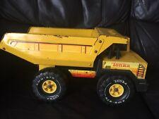 Vintage 1984 Tonka Amarillo Volquete XMB-975 playworn