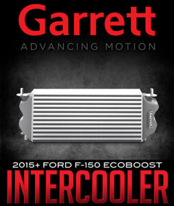 GARRETT 870702-6001 Air to Air Intercooler for 15+ Ford F-150 2.7L 3.5L Ecoboost
