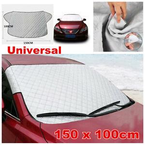 Car Windscreen Mirror Shield Cover Frost Ice Snow Sun Dust Protector 150x100cm