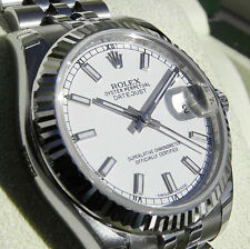 Rolex Datejust 178274 Midsize Steel & White Gold Jubilee White Index 31MM