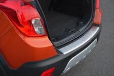 Brushed Bumper Sill Protector Trim Cover To Fit Vauxhall / Opel Mokka (2012+)