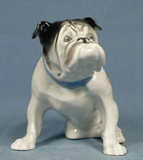 englische Bulldogge Figur hund dogge porzellanfigur gräfenthal porzellan b