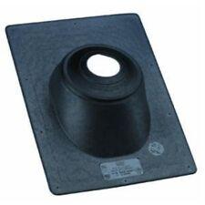 Oatey 11890 Thermoplastic Standard Base Flashing, Galvanized, 3-Inch