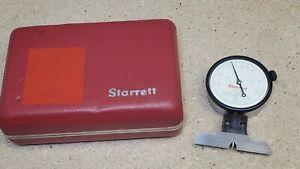 "Starrett No. 643-131 dial depth gage - .0005"""