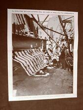Officine meccaniche di Saronno nel 1910 Effetti del ciclone del 23 luglio 1910