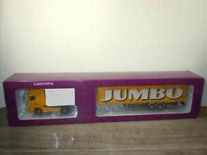 Scania R500 Truck & Trailer Jumbo Supermarkt - Lion Toys 1:50 in Box *53516