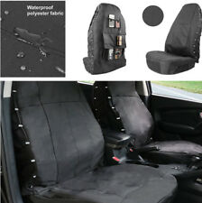 Car Auto Seat Cover For SUV VAN Waterproof Protector Oxford cloth + PU Black New