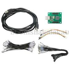 Xin-Mo 2 Player Control USB Arcade Encoder Cable with Wiring Kit For MAME