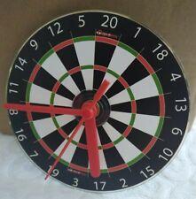 CD Disc Dartboard Clock