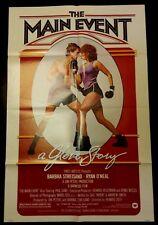 "The Main Event (27"" x 41"")  Original One Sheet Movie Poster 1979 Bundle"