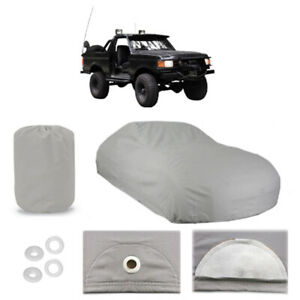 Ford Bronco 6 Layer Car Cover Fitted In Out door Water Proof Rain Snow Sun Dust