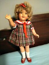 """Great Shirley Temple 18"""" Composition Doll"""