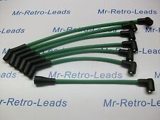 GREEN 8MM PERFORMANCE IGNITION LEADS TRIUMPH TR5 TR6 GT6 SHOW CAR QUALITY LEADS