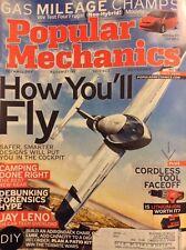 Popular Mechanics Magazine Jay Leno Tech Overload July 2006 051218nonrh