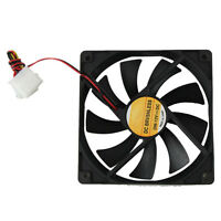 Silent Cooler 12V 12CM 120MM PC Computer CPU Cooling Cooler Case Fan Heatsink