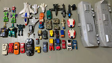 Vintage TRANSFORMERS GO BOTS fodder lot 1980?s Over 30 Pieces!! Hasbro Tonka