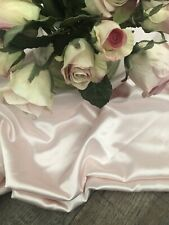 Gorgeous Large 78x100 Blush Pink Satin Banquet Wedding Event Tablecloth
