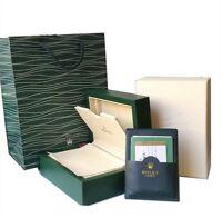 Rolex Watch Box Geneve Suisse. Paperwork Wallet&Outer Box