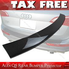 Carbon Fiber AUDI Q5 S Line Rear Bumper Protector Trim Cover 2010-2016 §