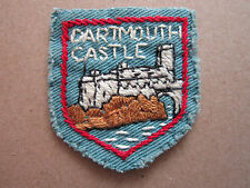 Dartmouth Castle Woven Cloth Patch Badge
