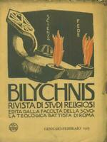 Bilychnis Year Secondo Embossing Folder The January-February 1913 Aa.vv