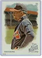 Deion Sanders 2019 Allen and Ginter 5x7 #275 /49 Braves