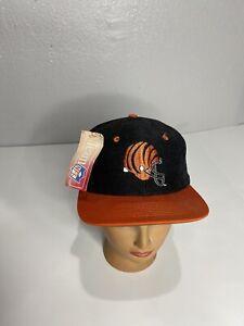 Vintage Cincinnati Bengals NFL Snapback Hat NWT