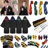 Harry Potter Gryffindor Slytherin Hufflepuff Krawatte Hut Cosplay Sets Kostüm