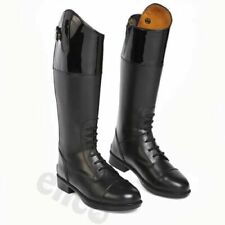 Leather Long Riding Boots UK Size 5