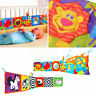 Soft Baby Cloth Book Early Educational Newborn Crib Toys Kids Bed Decoration