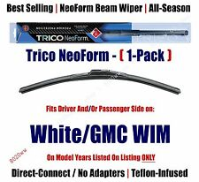(Qty 1) Super Premium NeoForm Wiper Blade fits 1991-1994 White/GMC WIM  16200