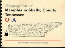 Shelby County Tennessee Memphis TN BIOGRAPHIES 1887 Goodspeed New Large Print RP