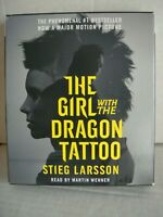 The Girl with the Dragon Tattoo CD audiobook Stieg Larsson read by Martin Wenner