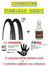 OFFERTA Kit 2 Copertoni MTB Tubeless ready 29 x 2.10 CON Liquido Sigillante
